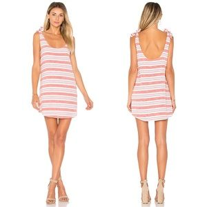Lovers + Friends Everglades Dress Berry Striped